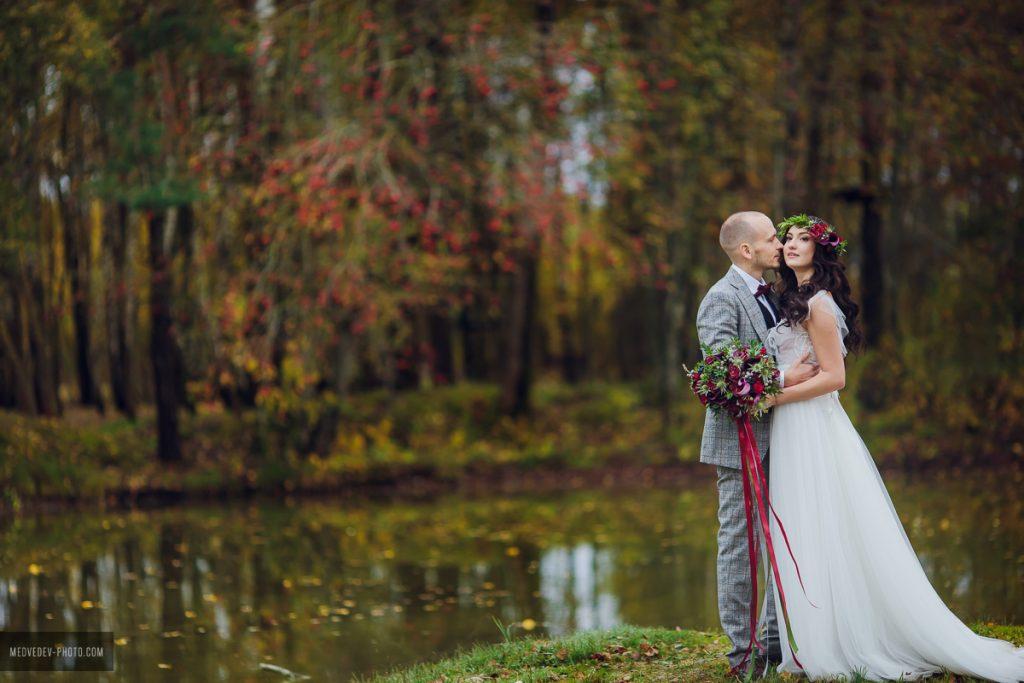 Роскошная осенняя свадьба в усадьбе. Марсала. Организация свадьбы в Минске LoveStudio
