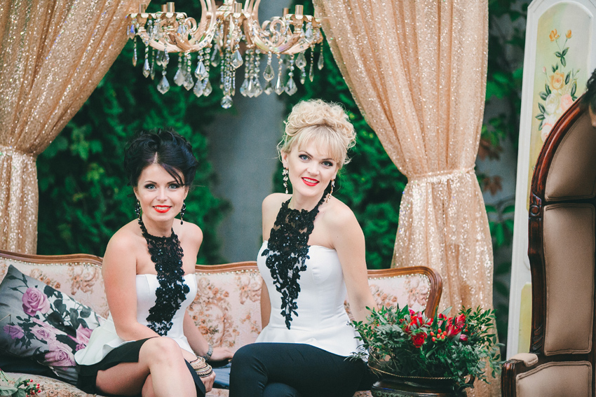 Свадьба в стиле рок и барокко