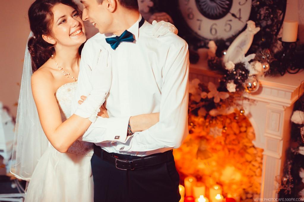 Новогодняя свадьба для Максима и Александры