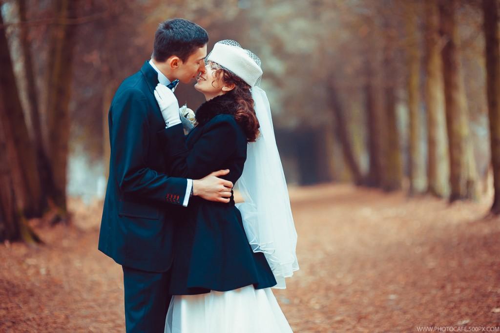Новогодняя свадьба Александры и Максима. Организация свадьбы в Минске
