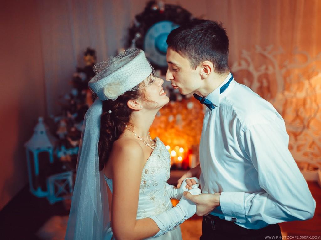 Новогодняя свадьба Максима и Александры