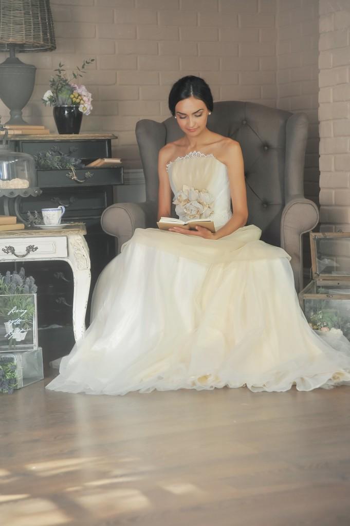 Спокойное утро невесты