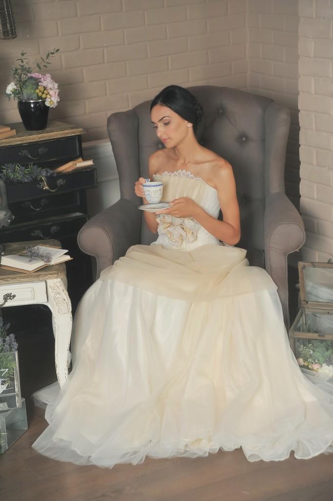 Уютное утро невесты