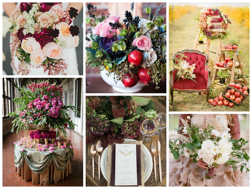 Осенняя свадьба. Флористика