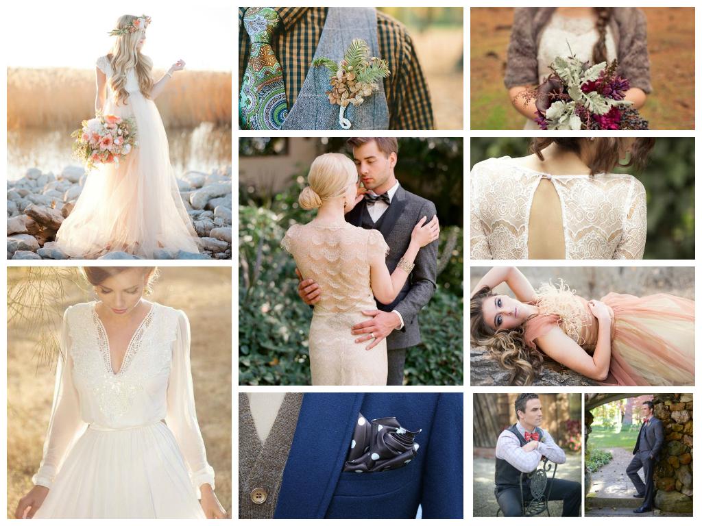 свадебные тренды в одежде осень 2014