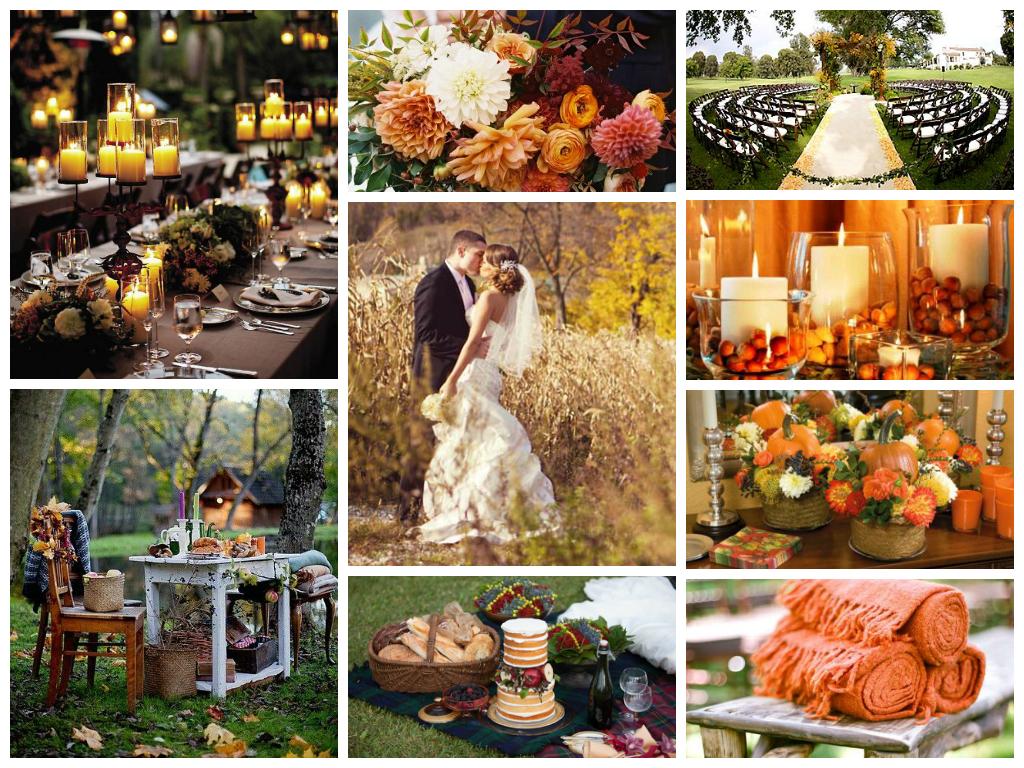 Тренды осенних свадеб