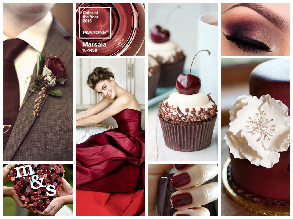 Marsala Pantone: Color of trend 2015 - Palette