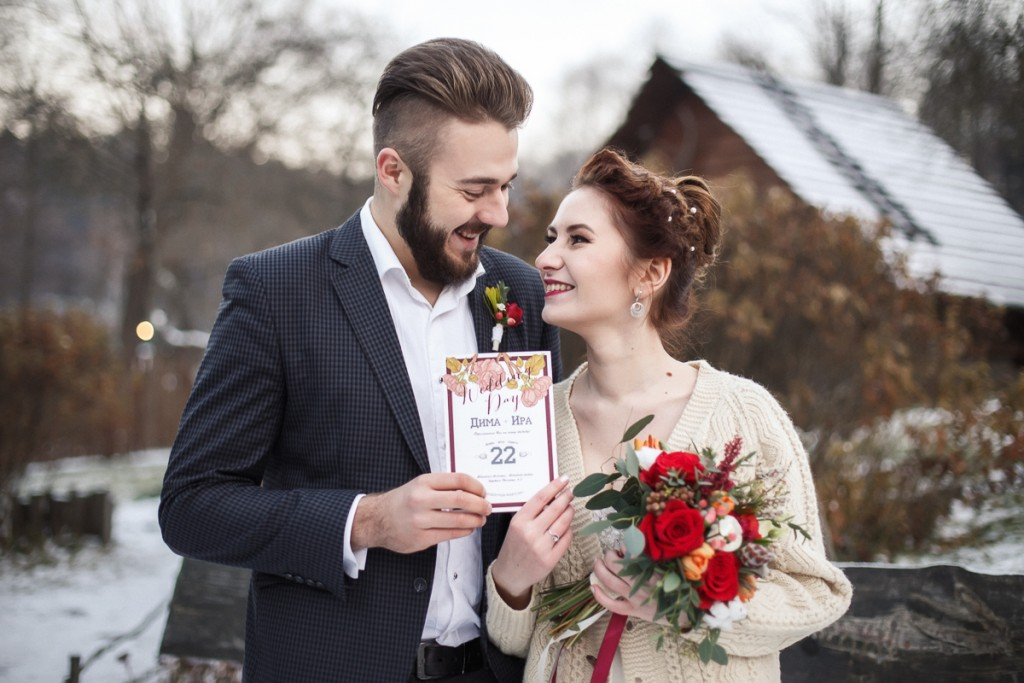 November Wedding Story: идеи для осенней свадьбы в Минске