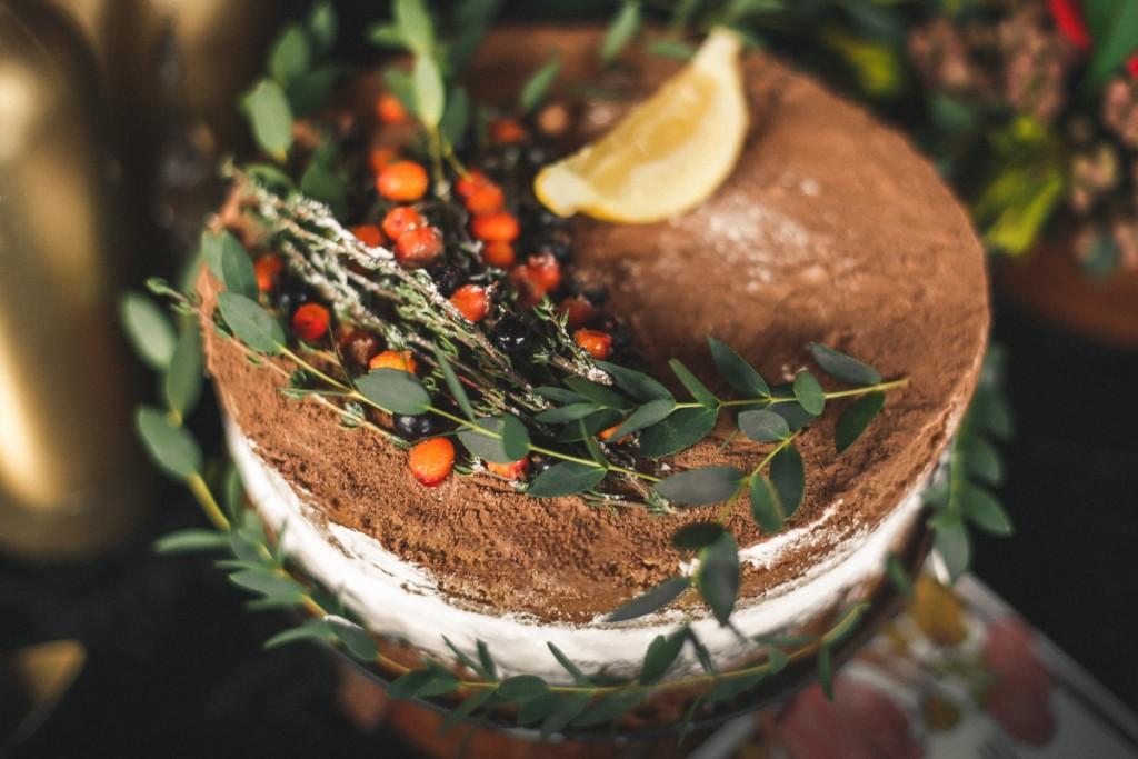 Рустик. Свадебный торт. Сладкий стол на свадьбу