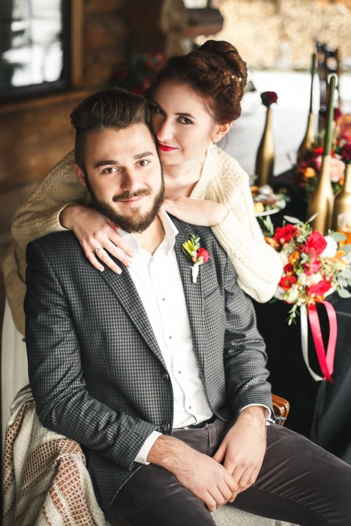 "November Wedding Story. Свадьба в усадьбе ""Околица"""