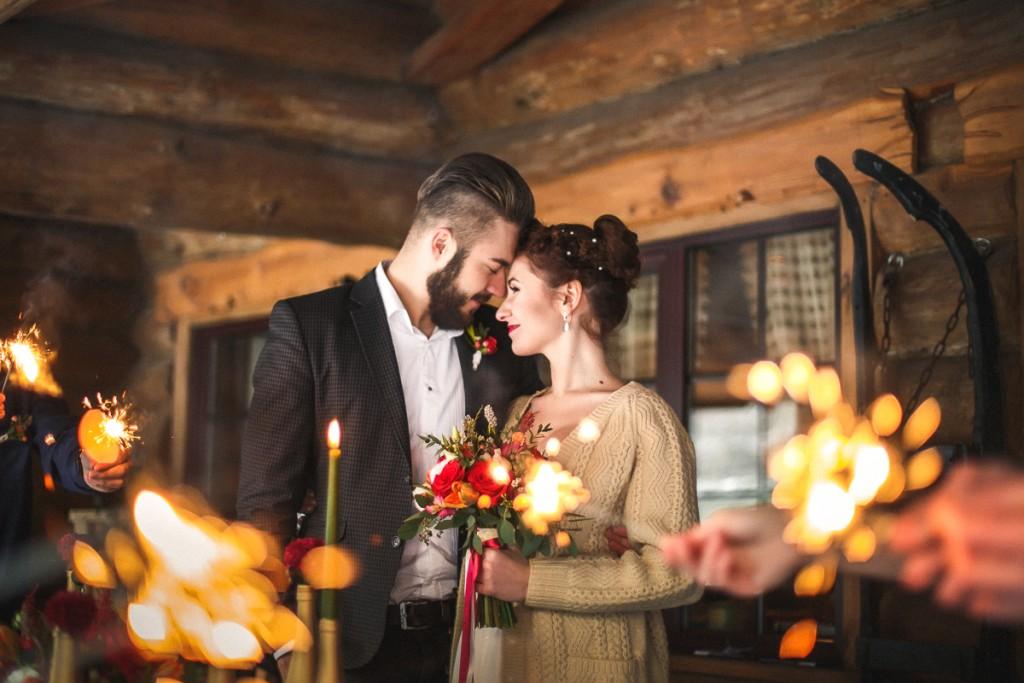 November Wedding Story. Outdoor wedding. Autumn Lovestory