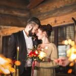 Ноябрьская история: уютная свадьба в усадьбе