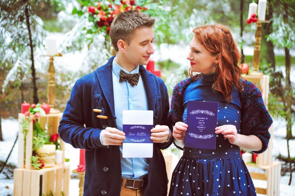 Организация свадьбы и лавстори зимой. Winter Lovestory