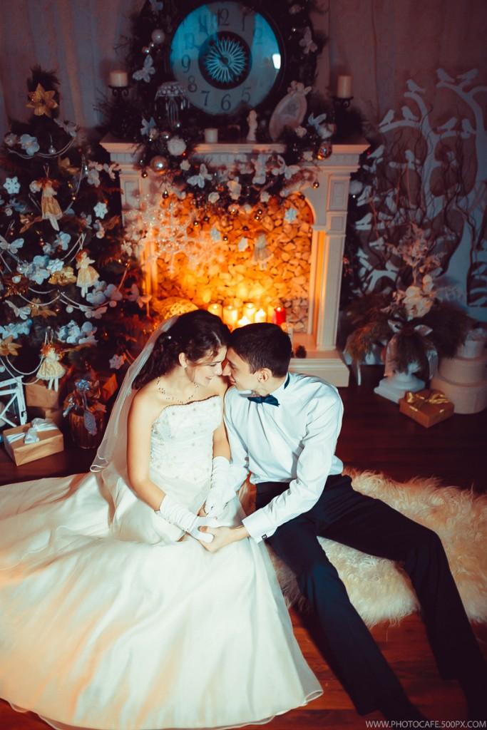 Новогодняя свадьба для двоих. Организация свадьбы LoveStudio