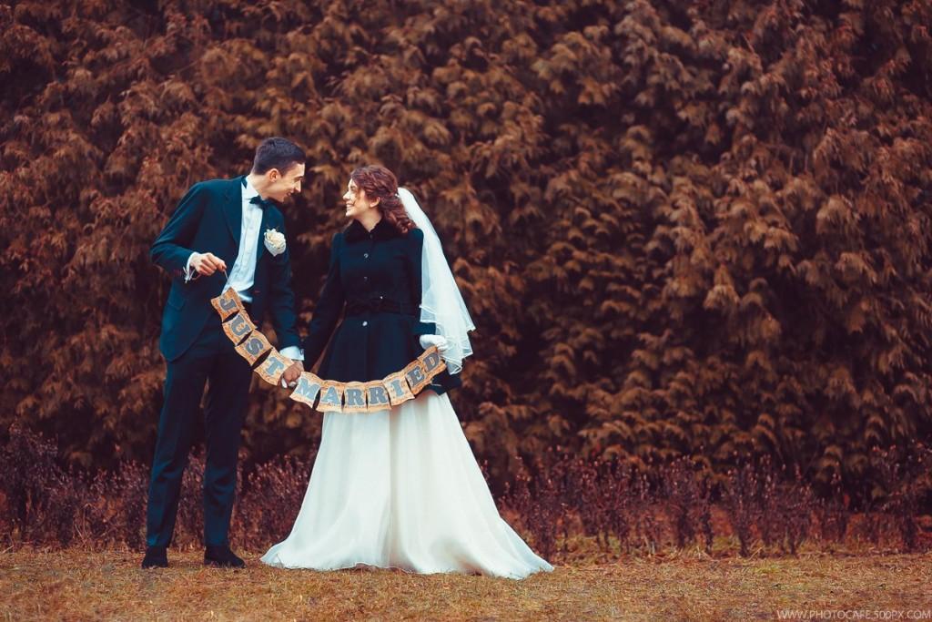 Новогодне-музыкальная свадьба для двоих