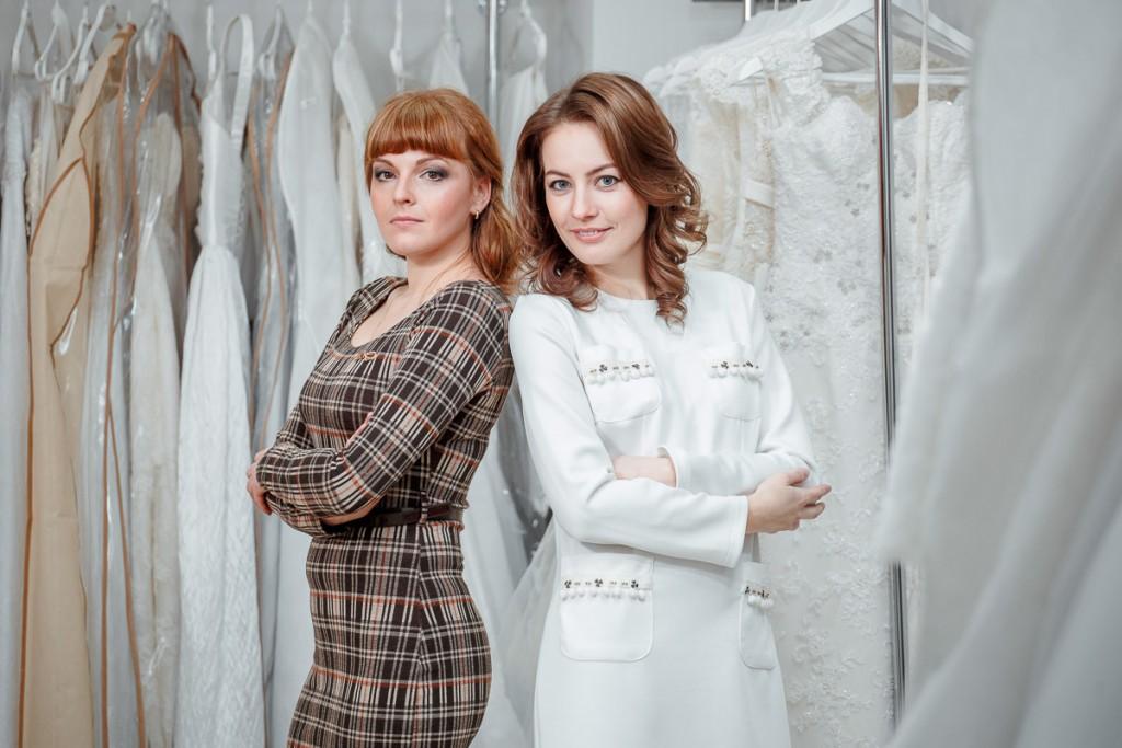 "Свадебный салон ""Артемида"": Вера Ягудина и Катя Шидловская"