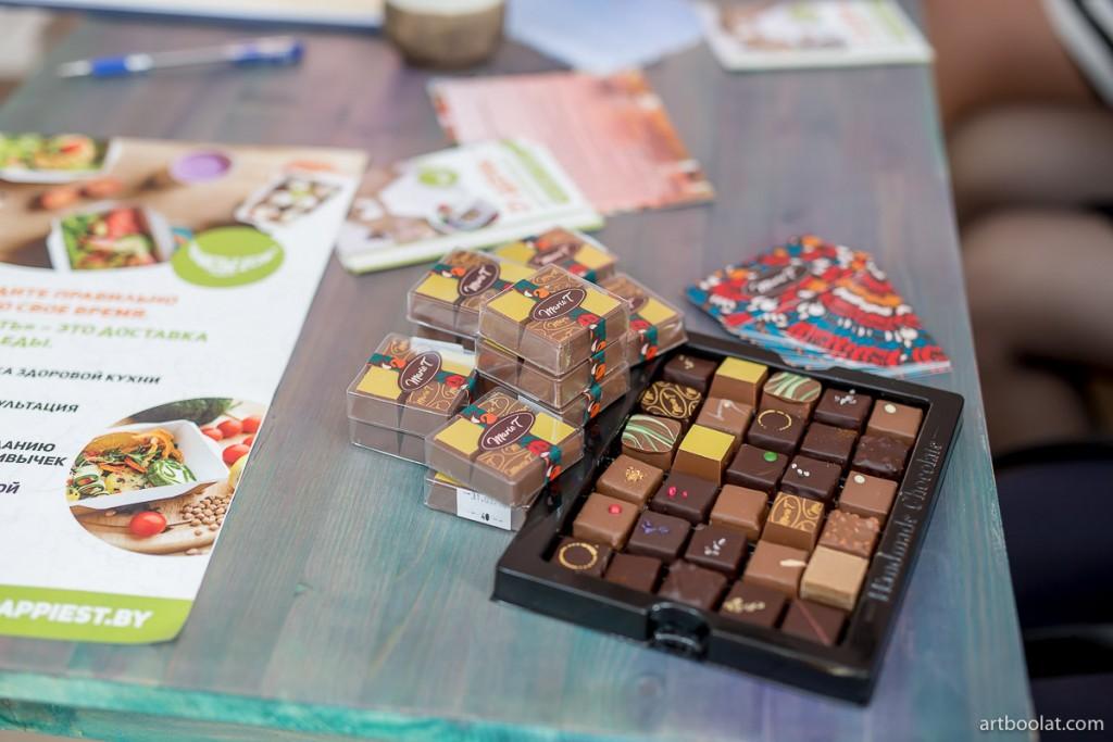 Шоколад ручной работы MarieT в гостях у TeaTalk